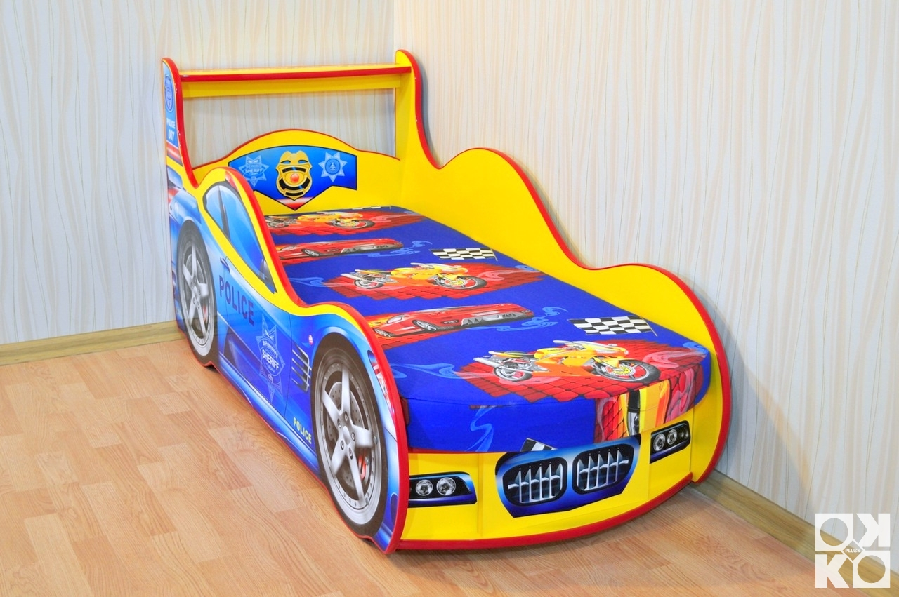 Кровать для мальчика машинка своими руками